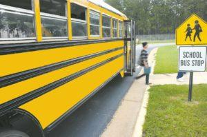 school bus in Rockville Maryland